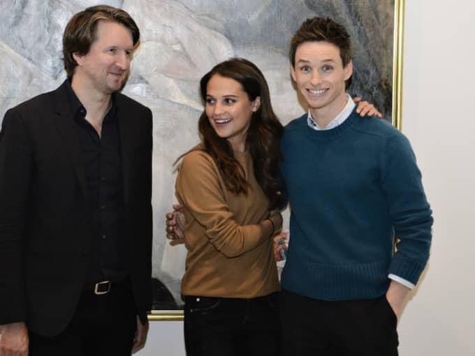 """Alicia VIkander är nu aktuell med storfilmen """"Danish girl"""". Foto: Philip Davali"""