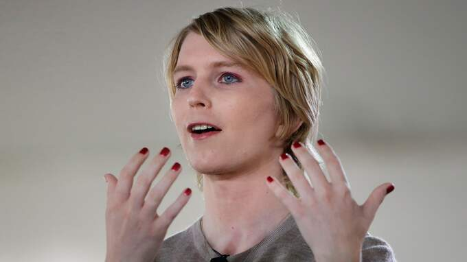 Chelsea Manning. Foto: STEVEN SENNE / AP TT NYHETSBYRÅN