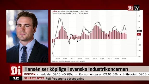 Hansén ser köpläge i svenska industrikoncernen