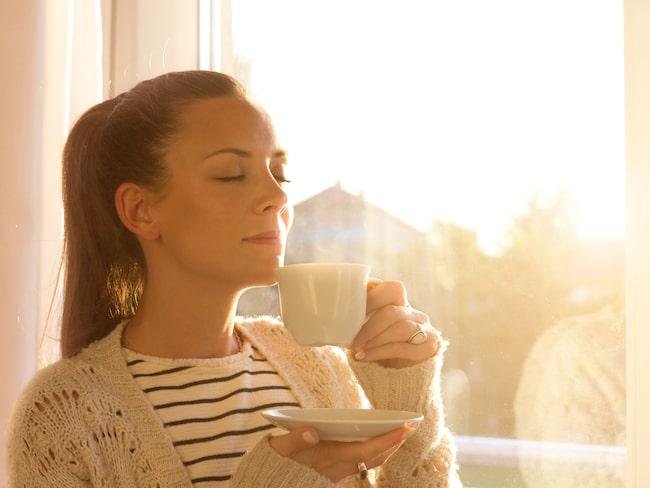 Med små förändringar kan man göra mycket för hälsan, bland annat gör morgonljuset susen.