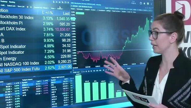Marknadskoll: Börsen upp - SSAB i topp