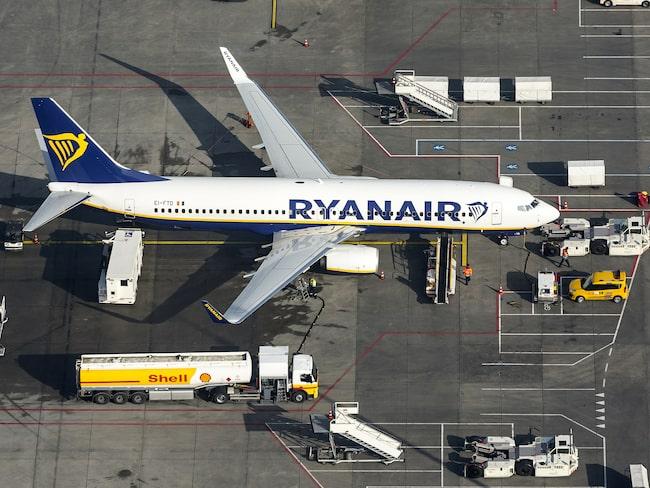 Ryanair har redan en pågående strejk bland kabinpersonalen i Spanien.