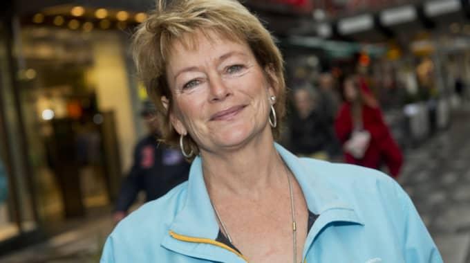 Lena Adelsohn Liljeroth har fått kritik för sin inkomstgaranti i veckan. Foto: Christian Örnberg