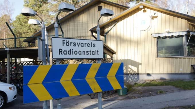 FRA är en topphemlig myndighet. Foto: Sven Lindwall