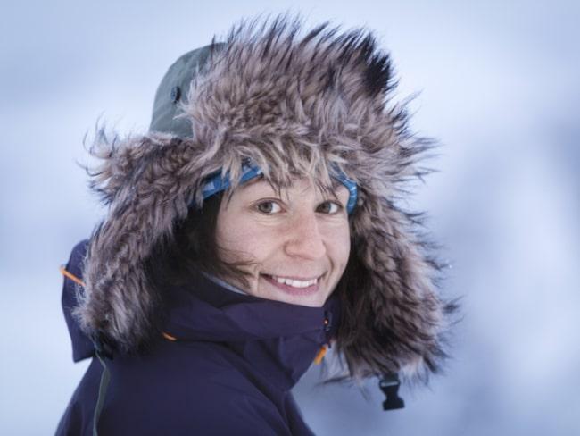 <span>Johanna korades till &quot;Årets kvinnliga äventyrare&quot; förra året.</span>