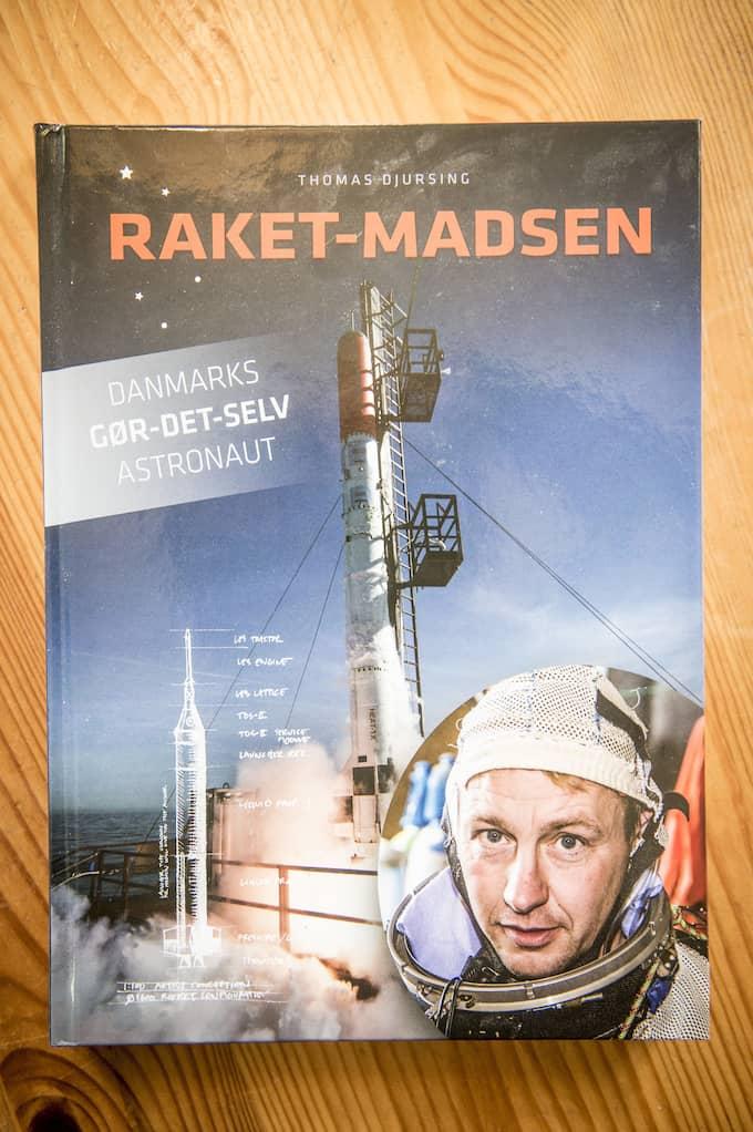 Thomas Djursings bok om Peter Madsen. Foto: CHRISTIAN ÖRNBERG