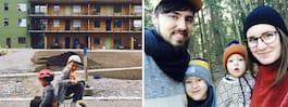Jessica, 27, berättar: Så är  livet i ett klimatvänligt hus