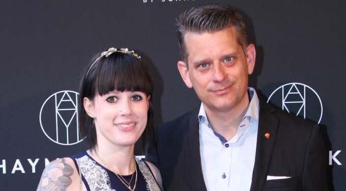 Marcus Birro har förlovat sig med sin Michaela Kälveskog Foto: Expressen