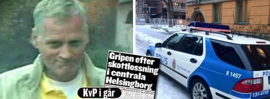 Mats Rimdahl, som i dag begärs häktad vid säkerhetssalen i Stockholm. Foto: Polisen, Magnus Hellberg