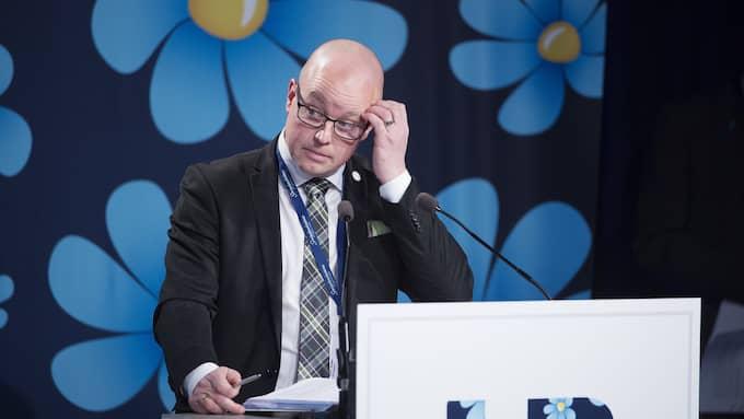 Björn Söder (SD), andre vice talman och ordförande för SD Kristianstad. Foto: SVEN LINDWALL