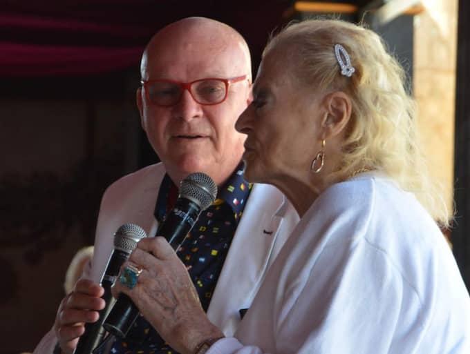 Lars Hector lärde känna Anita Ekberg för 40 år sedan och de blev sedan mycket nära vänner livet ut. I dag jobbar Lars Hector för att Malmö stad ska uppmärksamma Anita Ekbergs gärning på något sätt. Foto: Privat