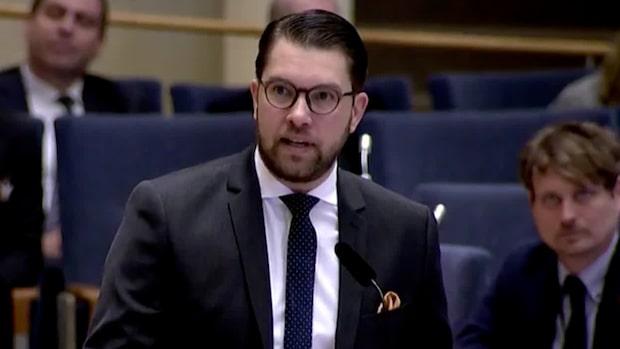 """Åkesson till Löfven: """"Vilka åtgärder har du tagit mot SSU?"""""""
