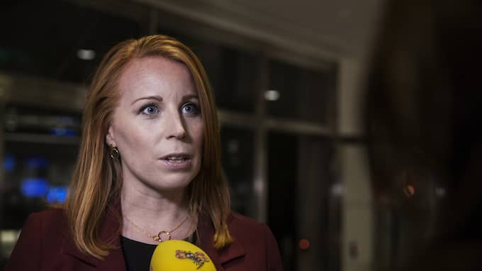 Centerpartiets partildare Annie Lööf. Foto: LISA MATTISSON