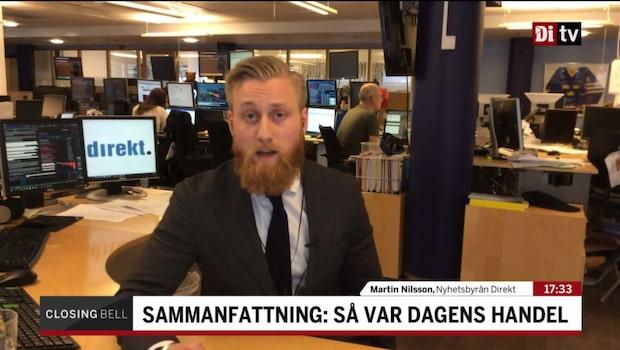 """Nilsson: """"Rapporterande bolag fanns i botten"""""""