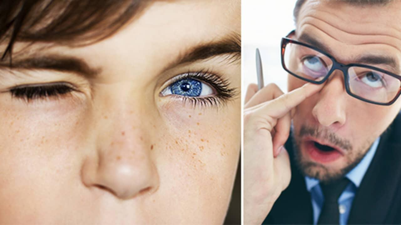 varför får man nervryckningar i ögat