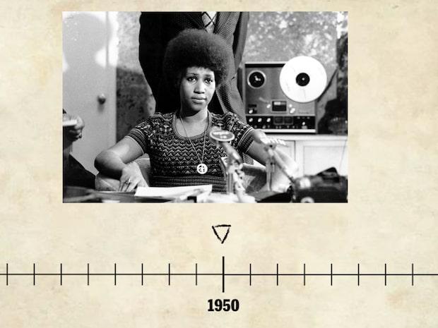 Här är Aretha Franklins karriär