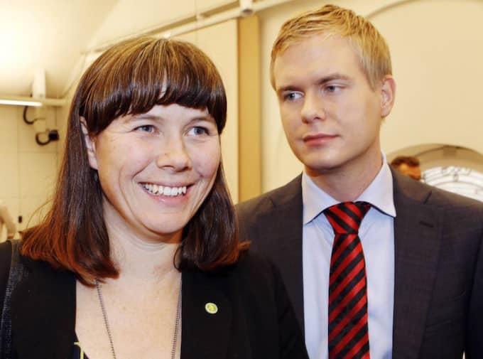 Miljöpartiet får rekordstort stöd i en ny Sifomätning. Foto: Cornelia Nordström