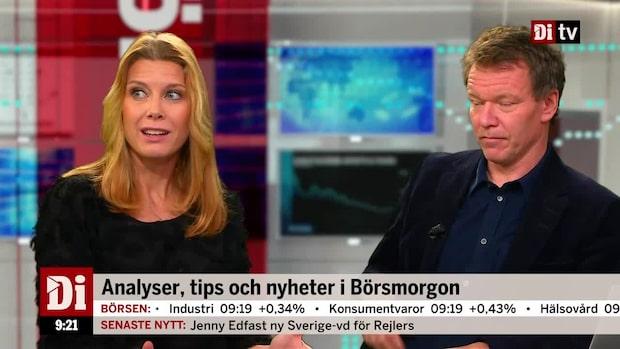 """Charlotta Faxén: """"Vi tittar utanför Sverige"""""""