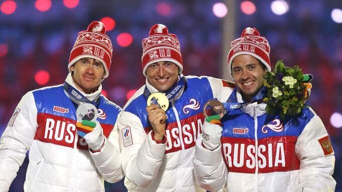 Vylegzjanin vann OS-guld på femmilen 2014. Foto: DARRON CUMMINGS / AP