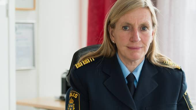Regionpolismästare Carin Götblad skriver om den nya, långsiktiga satsningen mot grov och organiserad brottslighet, Operation Lynx. Foto: SEBASTIAN LINDBERG/POLISEN