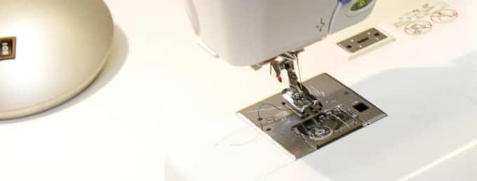 Symaskinen på bilden har ingenting med artikeln att göra. Foto: Johan Adelgren
