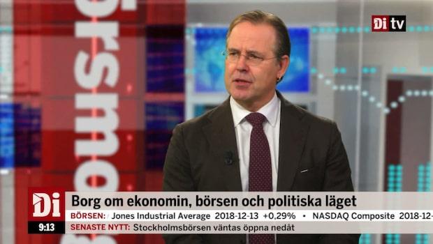 """Anders Borg: """"Turbulent år framför oss"""""""""""