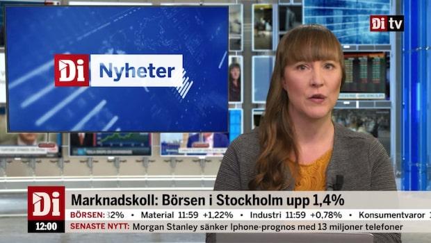 Di Nyheter 12.00 6 december - SAS upp efter flygsiffror