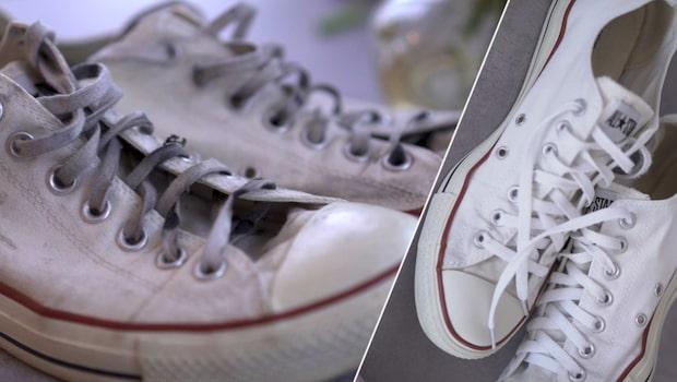 Så blir dina skor rena – utan att köras i tvättmaskinen