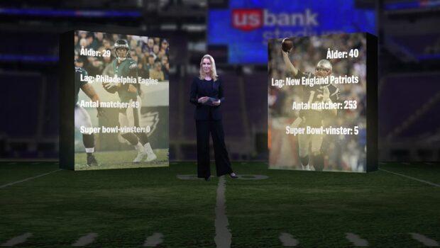 Matchen i matchen: Tom Brady mot Nick Foles