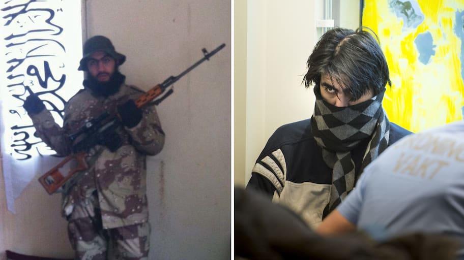 Hassan Al-Mandlawi har dömts till livstids fängelse för terroristbrott. Så