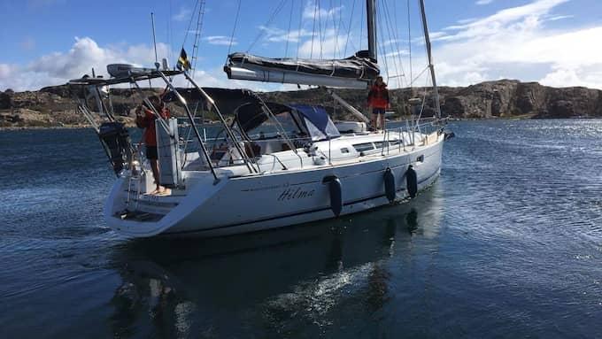 Båten heter s/y Hilma och är en Jeanneau sun odyssey 45 Foto: PRIVAT