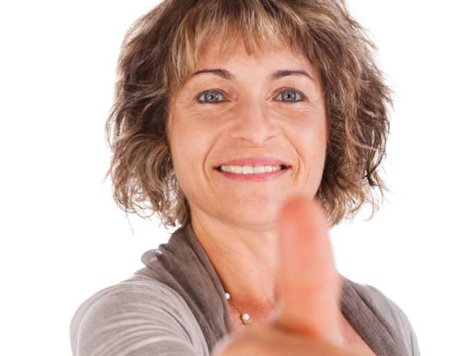 Kvinnor var allra bäst på att använda internet och sociala medier för att skaffa nytt jobb. Foto: COLOURBOX.