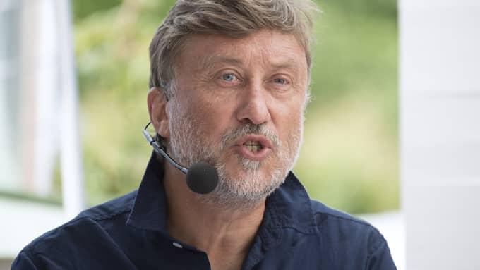 """I sitt sommarprogram anklagade Janne Josefsson Botkyrkas bibliotek för att """"bränna böcker"""". Foto: SVEN LINDWALL"""