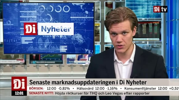 Di Nyheter: Upptrappning i handelskriget drar ner Europas börser
