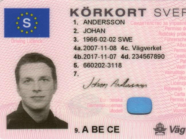 svensk id kort