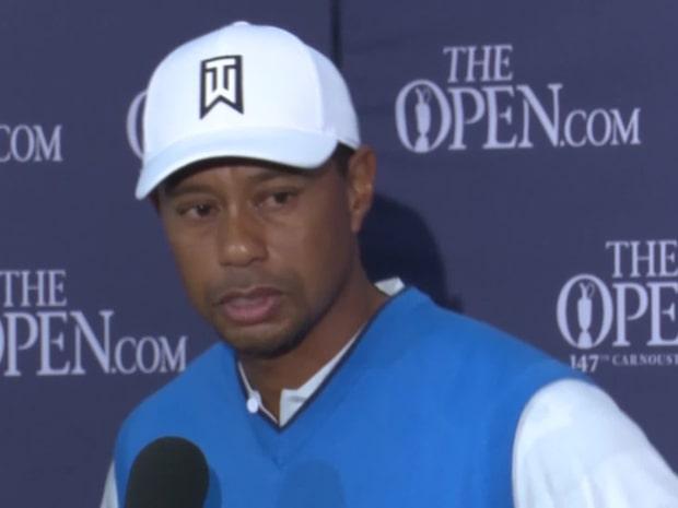 Tiger Woods har väckt raseri