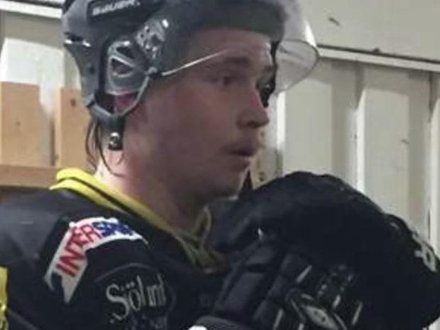 Svenska hockeyspelaren Jesper Nordin, 21, är död