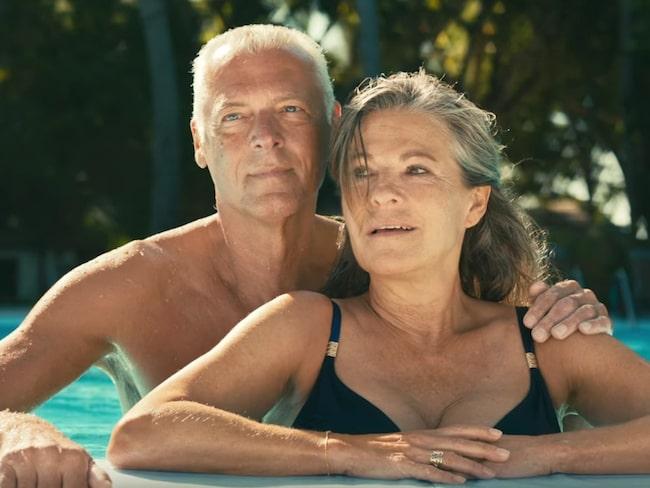 äldre par har sex