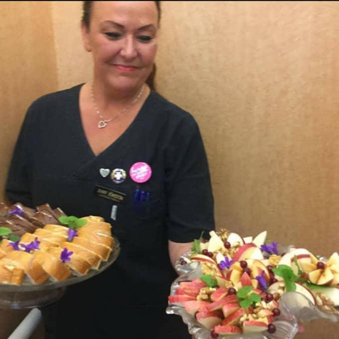 """""""Det här är inga avancerade saker vi gör"""", säger Jenny om maten. Nej, man fokuserar på annat, menar hon."""