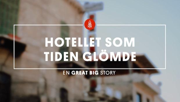 Här är hotellet som stått helt orört sedan 1874