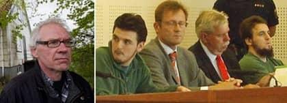 Mentor Alija, 21, och Mensur Alija, 20, dömdes för brandattentatet mot konstnären Lars Vilks. Nu tas deras fall upp i hovrätten.