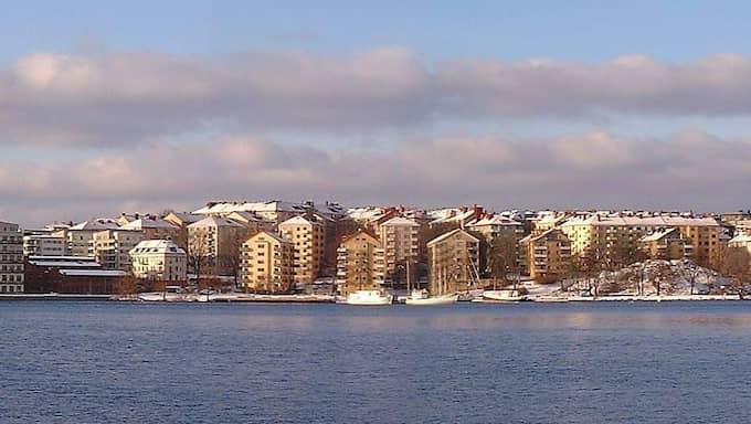 Lilla Essingen, sett från Reimersholme. Foto: Mats Halldin