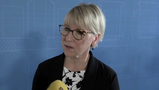 """Wallström om mötet: """"Öppenhjärtigt och allvarligt"""""""
