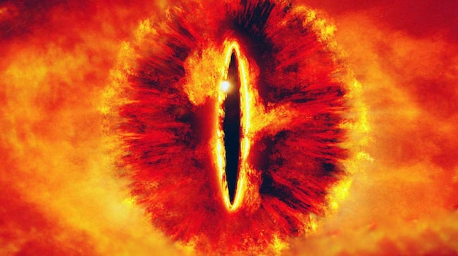En rysk konstnärsgrupp uppges planera att sätta upp en ljusinstallation som föreställer Saurons öga.