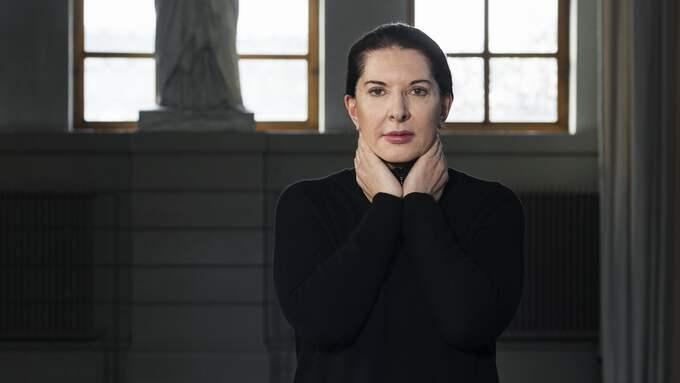 Moderna Museet i Stockholm samlar Marina Abramovic verk i en stor retrospektiv. Foto: ÅSA LUNDÉN