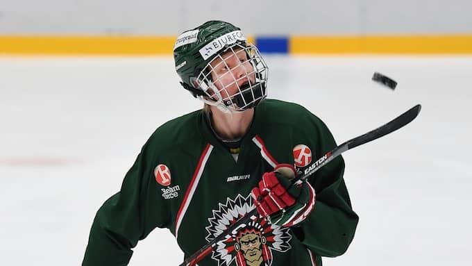 Rasmus Dahlin är tillbaka. Foto: Tommy Holl / IBL
