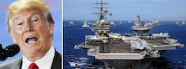 USA stoppar sina militära övningar med Sydkorea