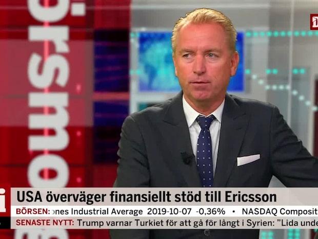 USA överväger finansiellt stöd till Ericsson