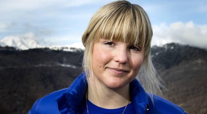 Anna Holmlund har flyttats från intensiven på Karolinska sjukhuset. Foto: Pontus Lundahl / Tt / TT SPORT TT NYHETSBYRÃÖN