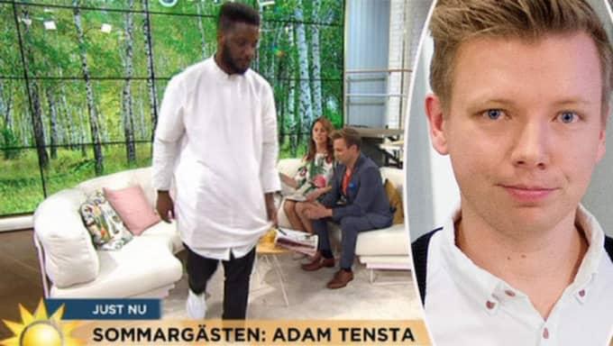 Journalisten Emanuel Karlsten tycker att TV4 borde ta sin idé om nollrasism på allvar. Foto: TV4 och Izabelle Nordfjell